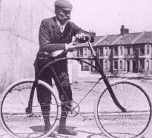Cycliste du début du XXe
